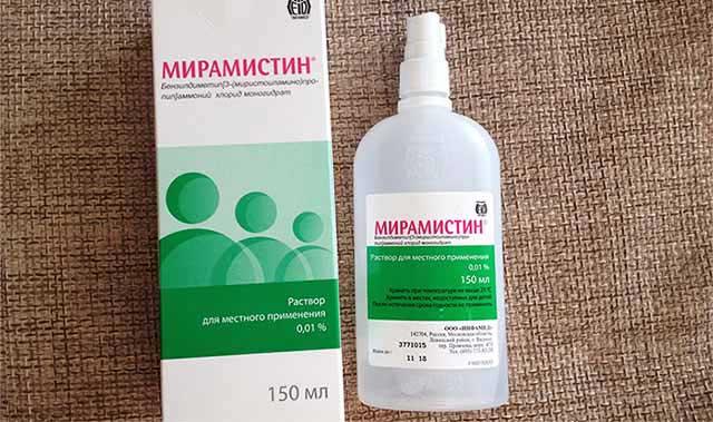 Мирамистин при цистите применение - Лечение
