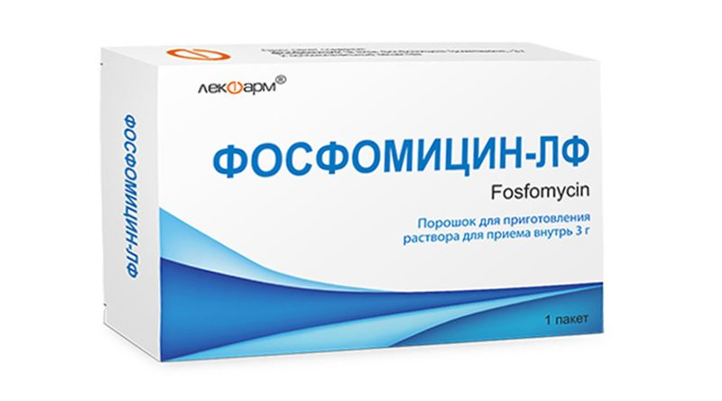 Фосфомицин при цистите