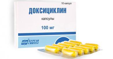 Как принимать Доксициклин при цистите
