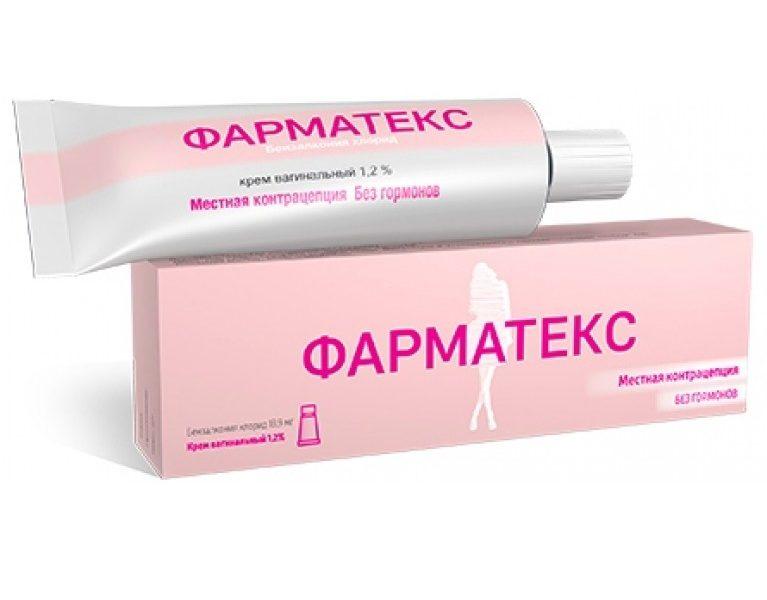 Фарматекс крем - официальная инструкция по применению, аналоги