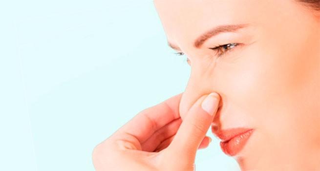 Коричневые выделения с неприятным запахом