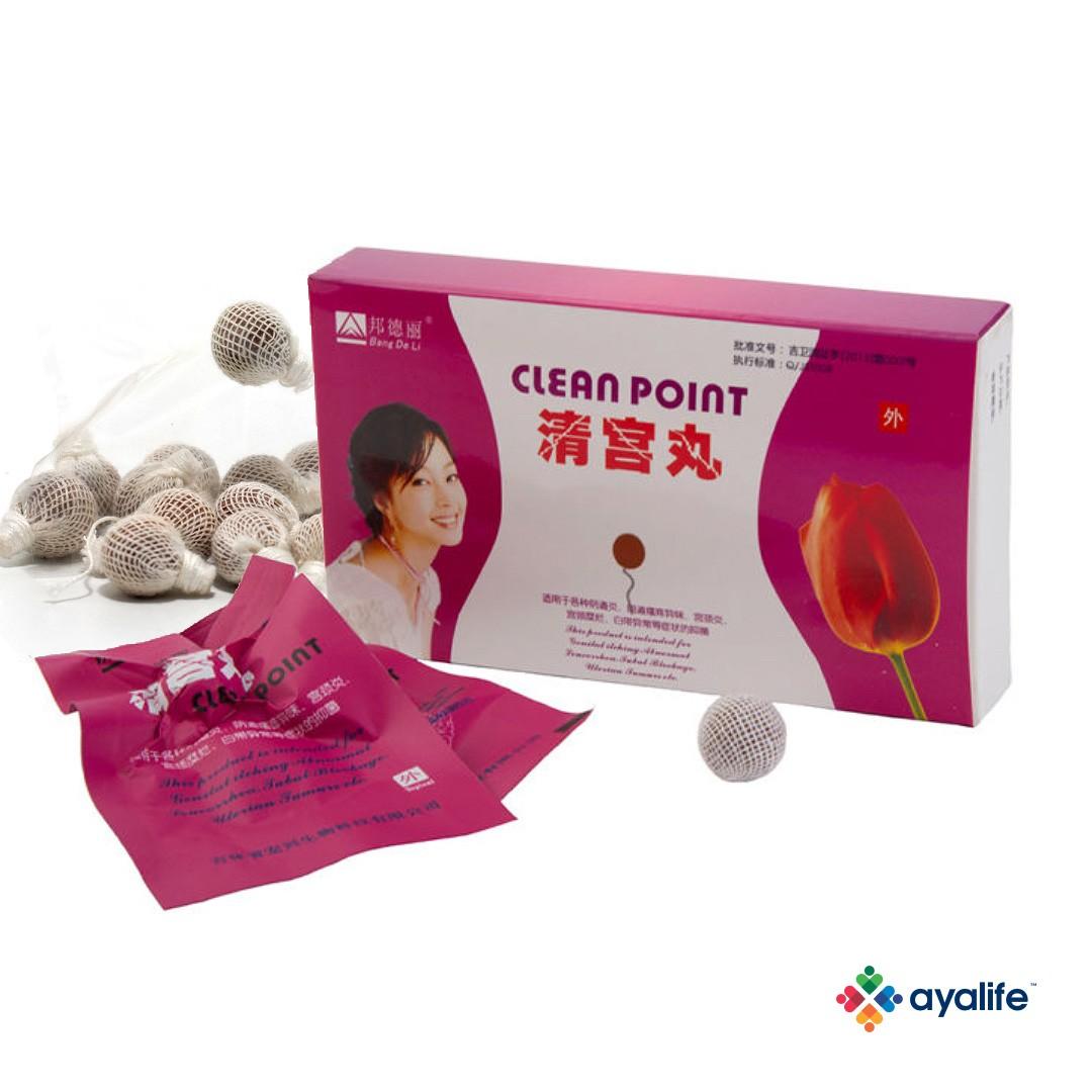 Clean point китайский тампон: гинекологический фитотампон в лечение болезней, инструкция к Клин поинт